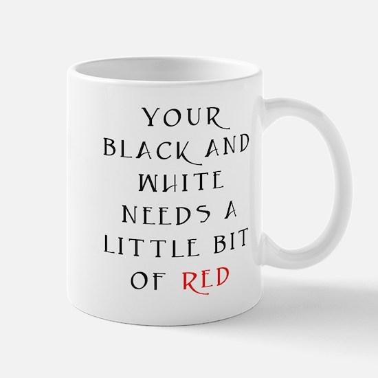Little Bit of Red Mug