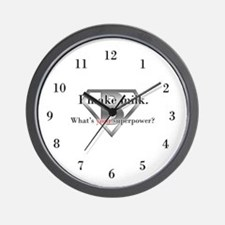 Breastfeeding Advocacy Wall Clock