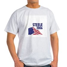 Steele 06 Ash Grey T-Shirt