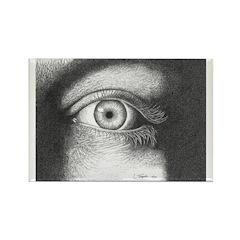 No Peeking Rectangle Magnet (10 pack)