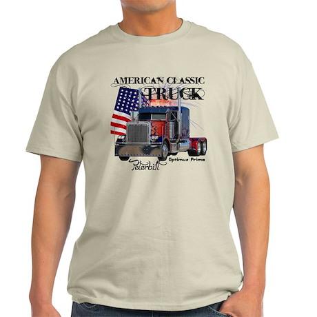 Classic Peterbilt Truck Light T-Shirt