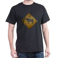 SIGN OF THE BULL - Black T-Shirt