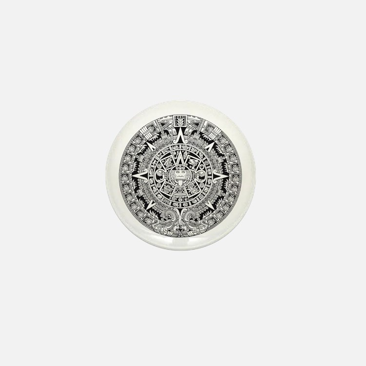 Cute End mayan Mini Button