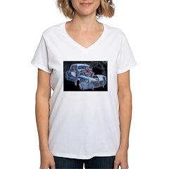 Blown Away Women's V-Neck T-Shirt