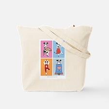 Funny Tea ceremony Tote Bag