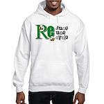 Reduce Reuse Recycle Hooded Sweatshirt