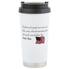 Concealing the Truth Travel Mug