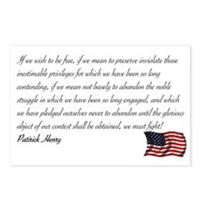 We must fight Postcards (Package of 8)
