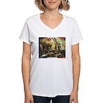 Bastille Day Women's V-Neck T-Shirt
