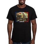 Bastille Day Men's Fitted T-Shirt (dark)
