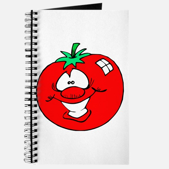 Happy Tomato Face Journal