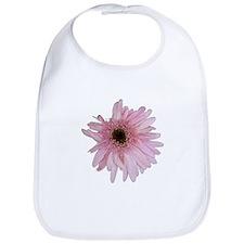 Pink Daisy Bib