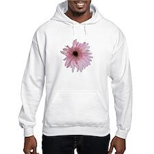 Pink Daisy Hoodie Sweatshirt
