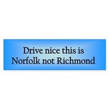 Norfolk n RM Bumper Bumper Sticker