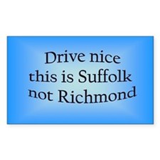 Suffolk n RM Rectangle Decal
