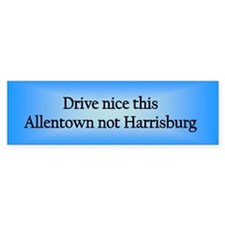 Allentown n HB Bumper Bumper Sticker