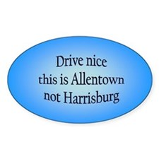 Allentown n HB Oval Decal
