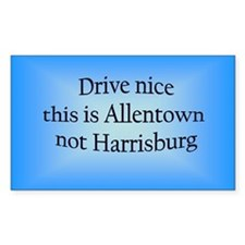 Allentown n HB Rectangle Decal