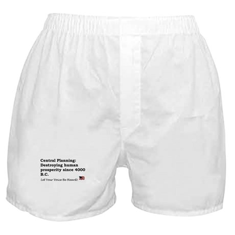Central Planning Boxer Shorts