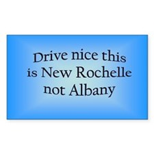 New Rochelle n AB Rectangle Decal