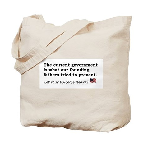 Current Government Tote Bag