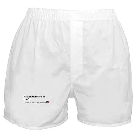 Nationalization Boxer Shorts