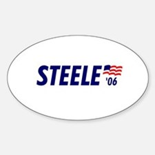 Steele 06 Oval Decal