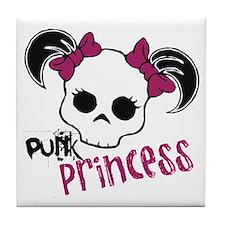 Punk Princess Tile Coaster