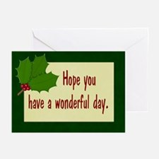 Wonderful Day Greeting Cards (Pk of 10)