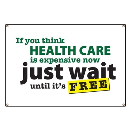 Expensive Health Care Banner