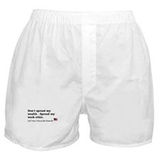 Work Ethic Boxer Shorts