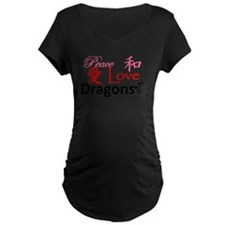 Cute Peace love dragon T-Shirt