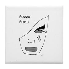 Fuzzy Funk Mask Tile Coaster