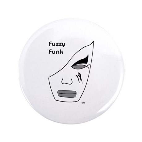 """Fuzzy Funk Mask 3.5"""" Button (100 pack)"""