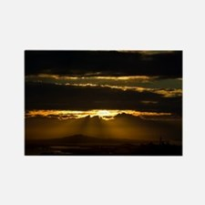 Auckland Golden Glow Rectangle Magnet (10 pack)