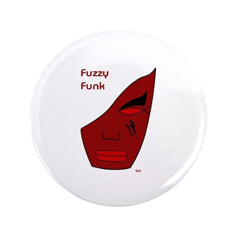 "Fuzzy Funk Mask 3.5"" Button (100 pack)"