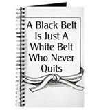 Black belt Journals & Spiral Notebooks