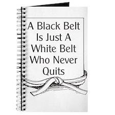 Black Belt Is Journal