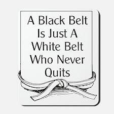 Black Belt Is Mousepad