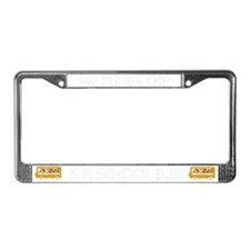 My Other Car is a School Bus License Plate Frame
