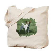 Cute Long haired chihuahua Tote Bag