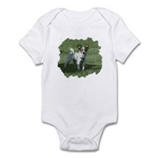 Cute Long haired chihuahua Infant Bodysuit