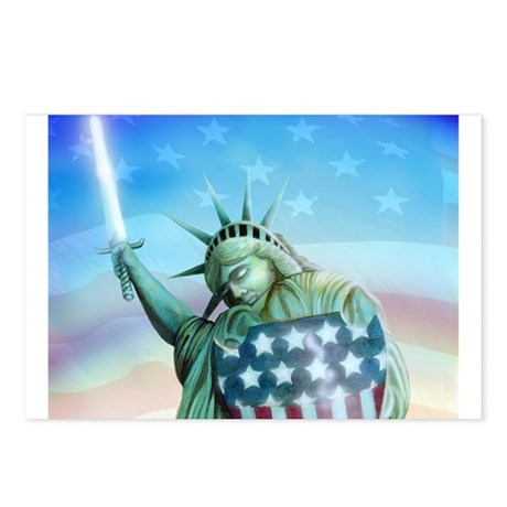 Sword of Liberty Postcards (Package of 8)