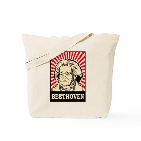 Pop Art Beethoven Tote Bag