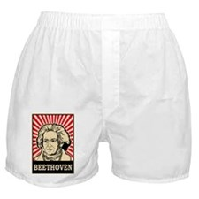 Pop Art Beethoven Boxer Shorts