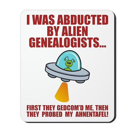 Alien Abduction Mousepad