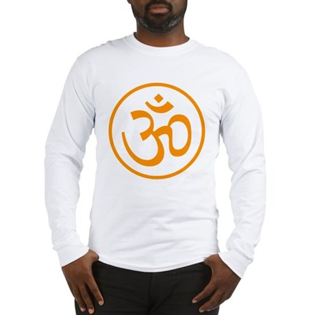 Aum Orange Long Sleeve T-Shirt