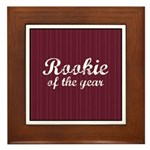 Rookie Of The Year Framed Tile