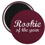 "Rookie Of The Year 2.25"" Magnet (100 pack)"