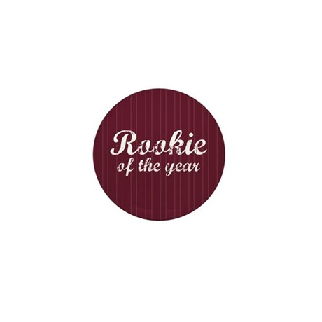 Rookie Of The Year Mini Button (100 pack)